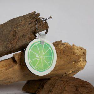Schlüsselanhänger Lime1